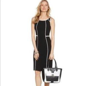 WHBM Piped Sheath Dress Size 12